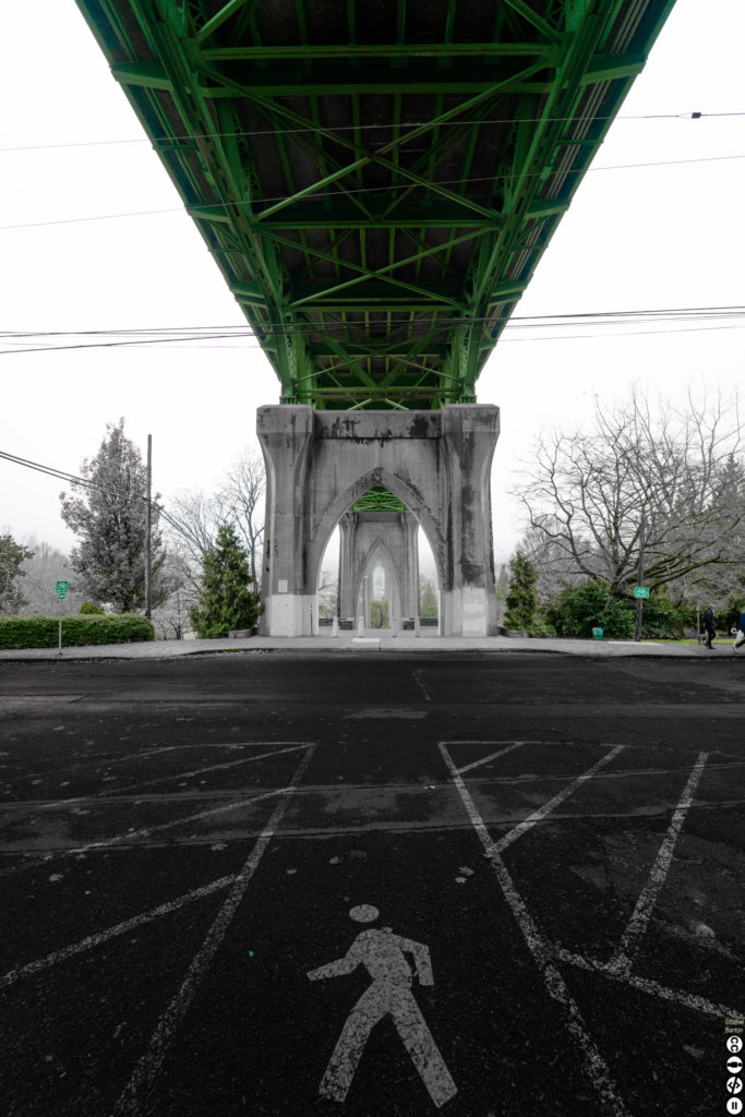 under the st johns bridge